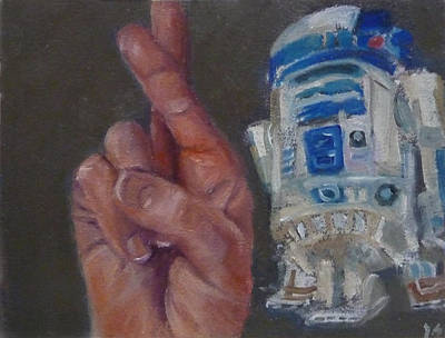 Painting - R Is For R2d2 by Jessmyne Stephenson
