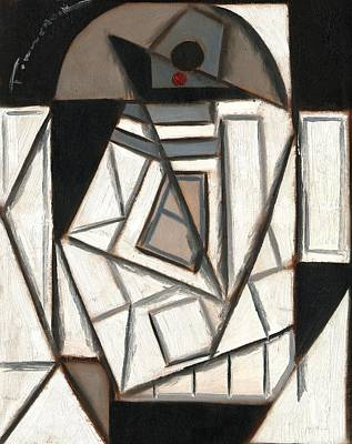 Painting - R2 Cubism Art Print by Tommervik