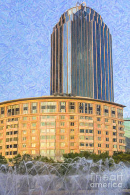 Digital Art - R2 D2 Building Boston by Liz Leyden