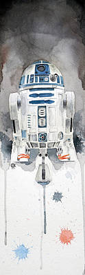 Stars Painting - R2 by David Kraig