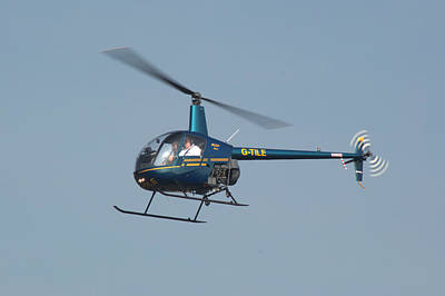 Photograph - R22 Beta Helicopter by Chris Day