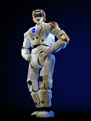 R5 Humanoid Robot Art Print by Nasa