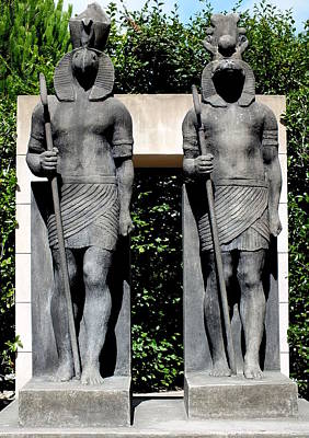 Photograph - Ra And Sobek by Guy Pettingell