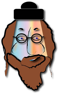 Rabbi David Art Print by Marvin Blaine