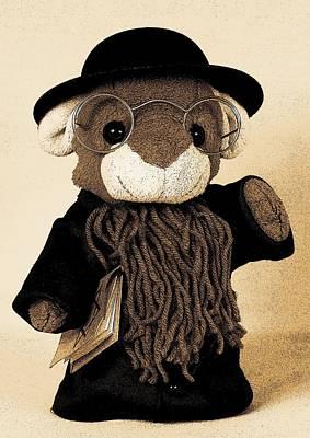 Rabbi T Art Print by Piggy