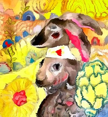 Painting - Rabbit 1 by Amy Sorrell