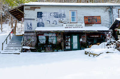 Photograph - Rabbit Hash Mercantile by Mary Carol Story