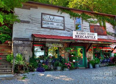 Photograph - Rabbit Hash Mercantile by Mel Steinhauer