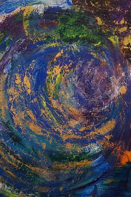 Art Print featuring the painting Rabbit Hole by Kristine Bogdanovich