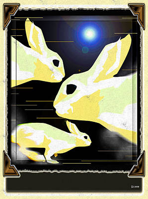 Rabbits Original by Daniel Janda