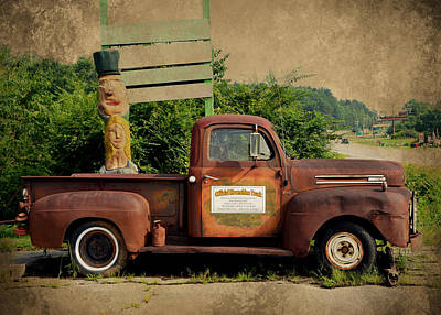 Photograph - Rabun County Moonshine Truck by Carla Parris