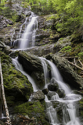 Photograph - Race Brook Falls - Lower Falls by Expressive Landscapes Fine Art Photography by Thom