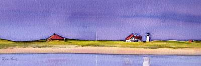 Cape Cod Painting - Race Point by Heidi Gallo