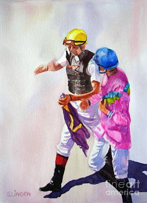 Race Rehash Art Print by Sandy Linden