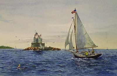 Race Rock Light To The Windward Art Print