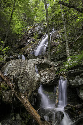 Photograph - Racebrook Falls - A Berkshire Gem by Expressive Landscapes Fine Art Photography by Thom