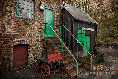 Brick Buildings Photograph - Racecourse Colliery  by Adrian Evans