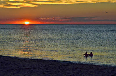 Photograph - Racepoint Beach Sunset 3 by Allen Beatty