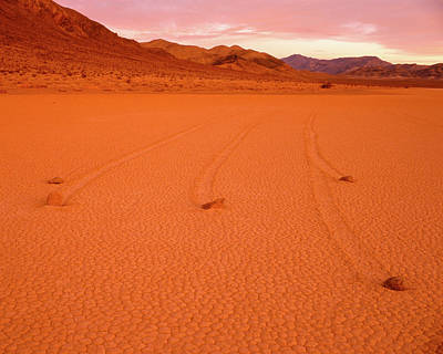 Photograph - Racetrack Valley Death Valley National Park by Ed  Riche