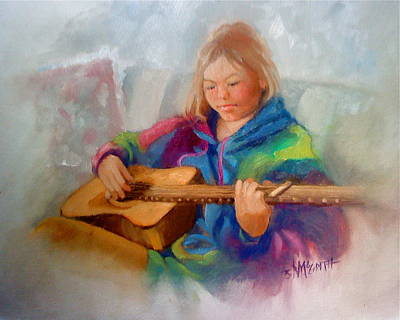 Painting - Rachael by Janet McGrath