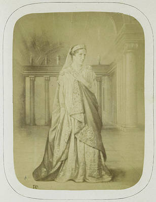 Rachel In The Role Of Phedre In Phedre, Act II Art Print