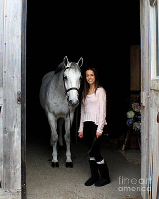 Photograph - Rachel Ireland 1 by Life With Horses
