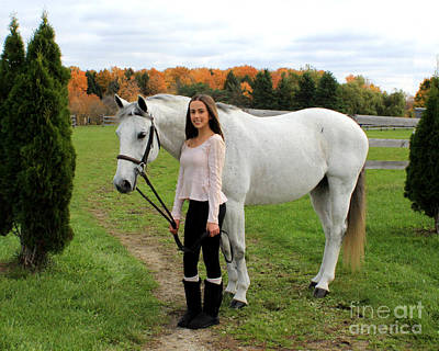 Photograph - Rachel Ireland 14 by Life With Horses