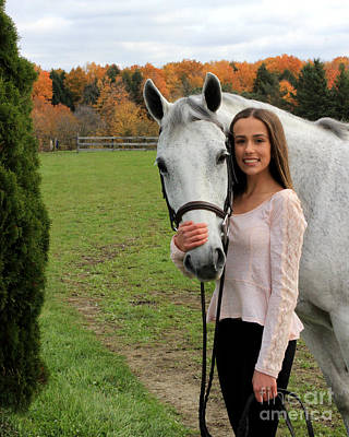 Photograph - Rachel Ireland 15 by Life With Horses