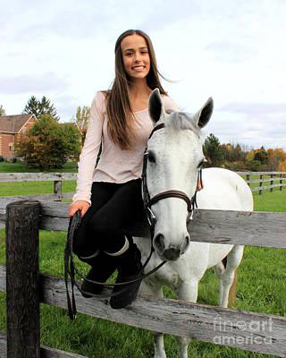 Photograph - Rachel Ireland 19 by Life With Horses