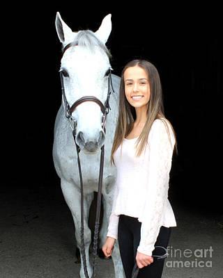 Photograph - Rachel Ireland 2 by Life With Horses