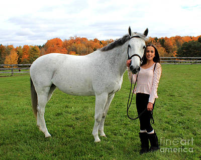 Photograph - Rachel Ireland 21 by Life With Horses