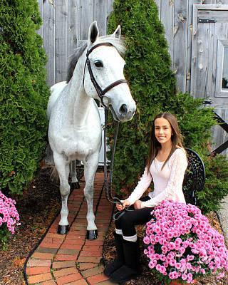 Photograph - Rachel Ireland 5 by Life With Horses