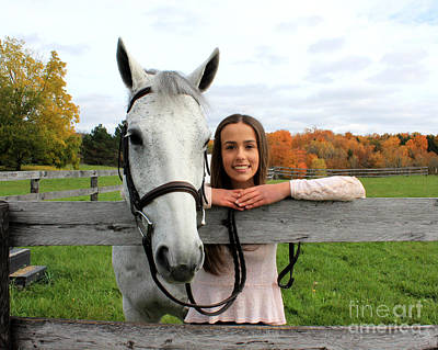 Photograph - Rachel Ireland 20 by Life With Horses
