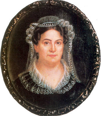 Painting - Rachel Jackson, Wife Of Andrew Jackson by Science Source