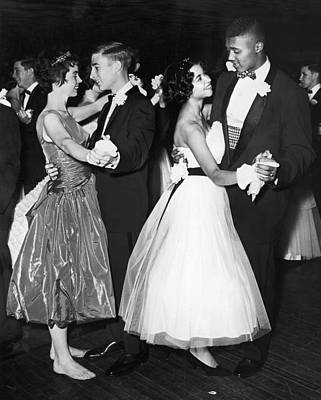 Integrated Photograph - Racial Integration, 1959 by Granger