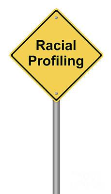 Racial Profiling Art Print by Henrik Lehnerer