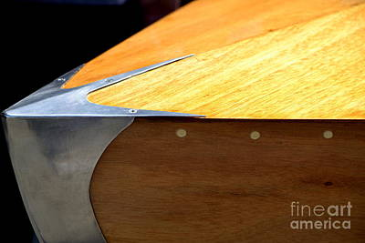 Photograph - Racing Boat Bow by Dean Ferreira