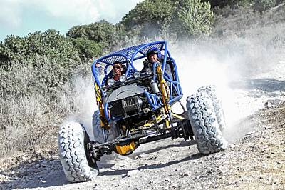Dirt Track Photograph - Racing Buggy by Photostock-israel