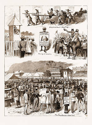 Hong Kong Drawing - Racing In The East Turf Notes At Umballa And Hong Kong by Litz Collection