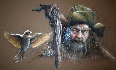 Jrr Painting - Radagast The Brown by John F Willis