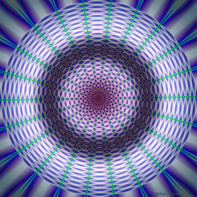 Digital Art - Radar 2 by WB Johnston