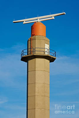 Photograph - Radar Tower by Nick  Biemans