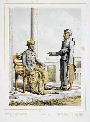 Raden Adipati Of Madura Art Print by British Library