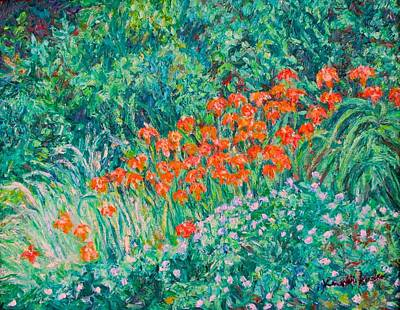 Painting - Radford High Day Lilies by Kendall Kessler