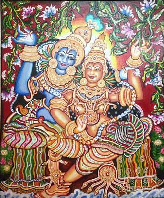 Painting - Radheshyam by Jayashree