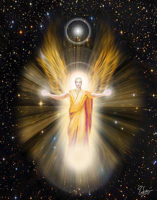Digital Art - Radiance Angel Number 2 by Endre Balogh