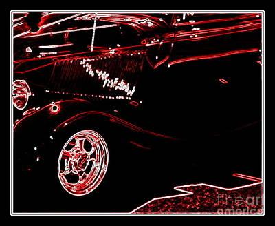 Art Print featuring the digital art Radiance by Bobbee Rickard