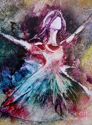 Radiant Bride Art Print