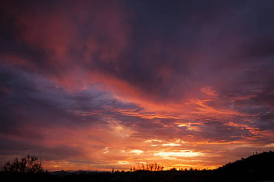 Photograph - Radiant Desert Skies by Anthony Citro