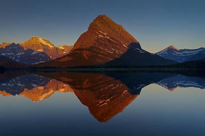 Photograph - Radiant Grinnell Point by Mark Kiver
